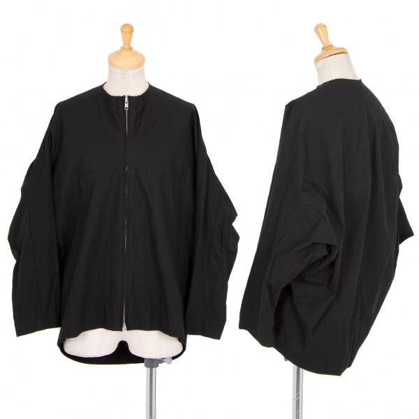 ヨウジヤマモト ファムYohji Yamamoto FEMME コットンドルマンジップジャケット 黒3【中古】 【レディース】