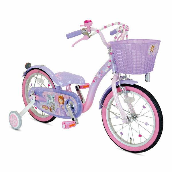 アイデス ソフィア&スカイ16インチ パープル/ピンク 自転車【ラッピング不可商品】【送料無料 沖縄・一部地域を除く】