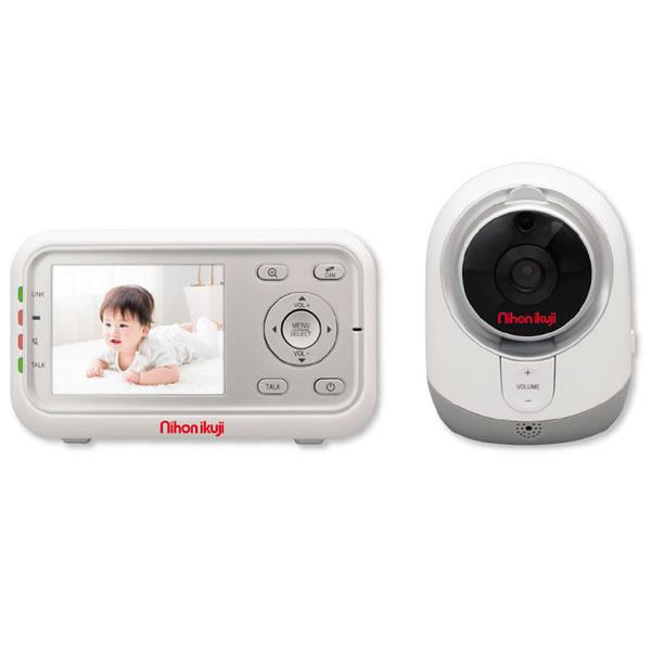 【送料無料】日本育児 デジタルカラー スマートビデオモニター3
