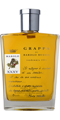 (グラッパ)マローロ グラッパ・ディ・バローロ ブッシア 35周年記念ボトル  45度 700ML 1本