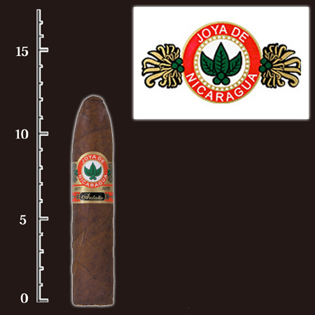 法律でタバコは初回に成人証明書の提出が必須です。  【プレミアムシガー】(バラ売り・1本) ホヤデニカラグア アンターニョ グランコンスル ・トルペード系 (強さ:●●●●〇)