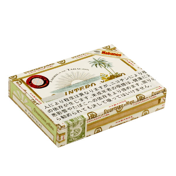 【プレミアムシガー】【箱買い・25本入】 キンテロ パナテラス ・25本入パナテラ系・木箱入・キューバ産