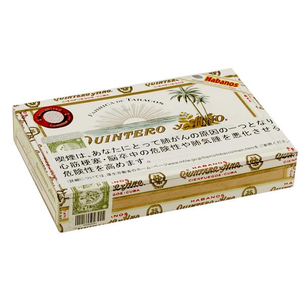 【プレミアムシガー】【箱買い・25本入】 キンテロ ロンドレス ・25本入・木箱入・キューバ産
