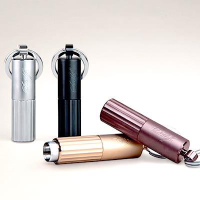 喫煙具・シガーカッター ダビドフ パンチカッター(2穴)デュオ 色:ステン