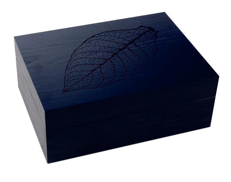 (送料無料)ジノ・ヒュミドール リーフデザイン Z60色:ブラックオーク