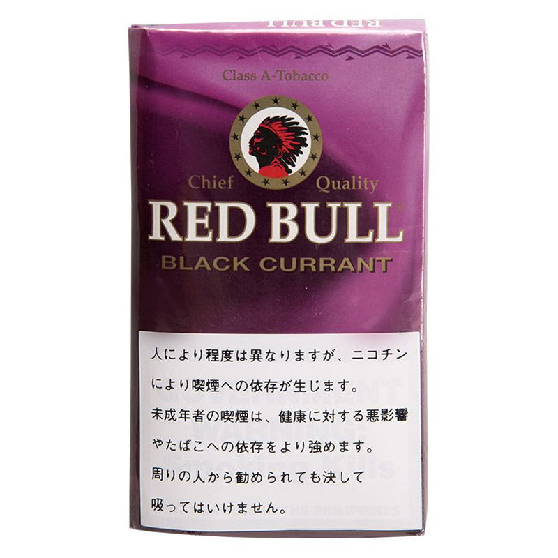 【シャグ刻葉】【まとめ買い・10袋】レッドブル・ブラックカラント 40g  &スローバーニングペーパー 5個セット
