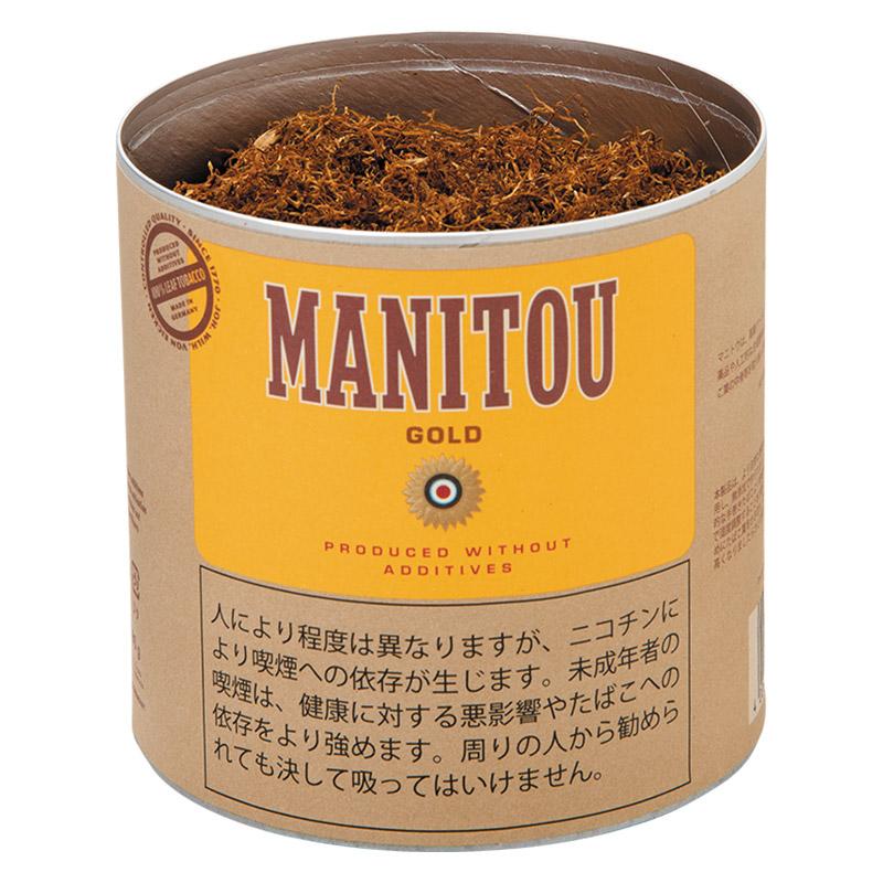 着後レビューで 送料無料 法律でタバコは初回に成人証明書の提出が必須です シャグ刻葉 マニトウ 紙缶 ゴールド 80g 売却 1個セット シングル ナチュラル系 ペーパー 缶入