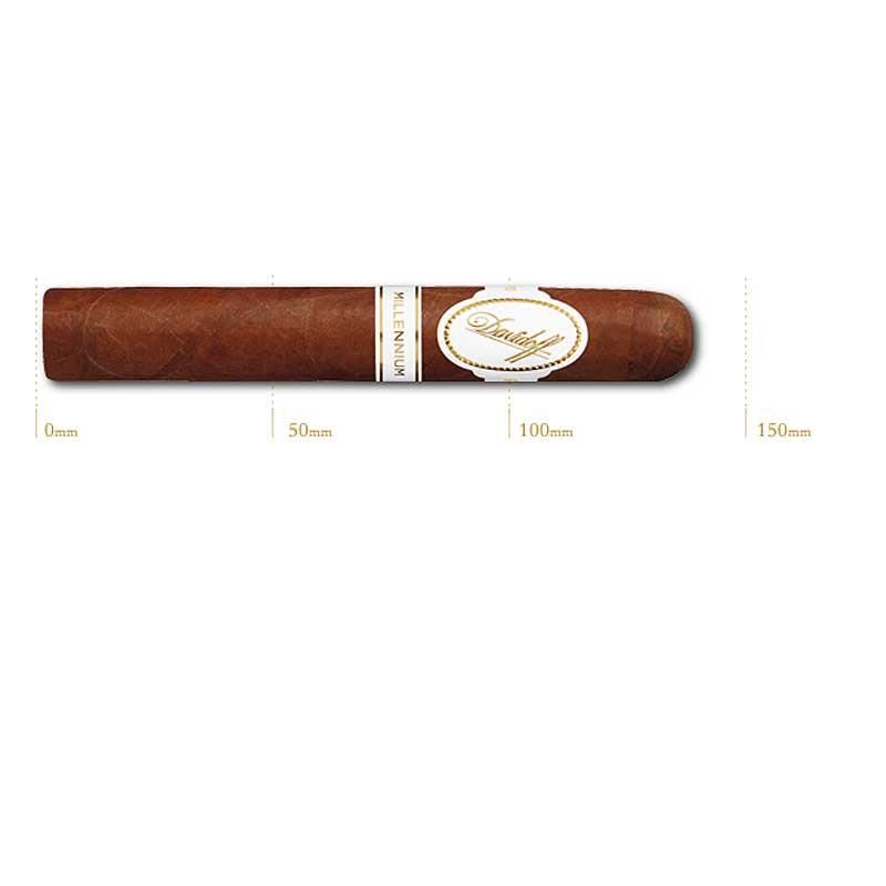 法律でタバコは初回に成人証明書の提出が必須です プレミアムシガー 箱買い 20本入 ダビドフ ミレニアムブレンド チューブ入 激安通販販売 ロブストサイズ系 ロブスト 安い 激安 プチプラ 高品質