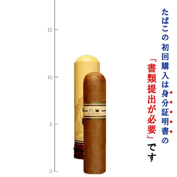 法律でタバコは初回に成人証明書の提出が必須です。  【プレミアムシガー】(バラ売り・1本) NUB・ナブ460 コネチカット・イエロー(チューブ入) ショートロブスト系 (強さ:●〇〇〇〇)