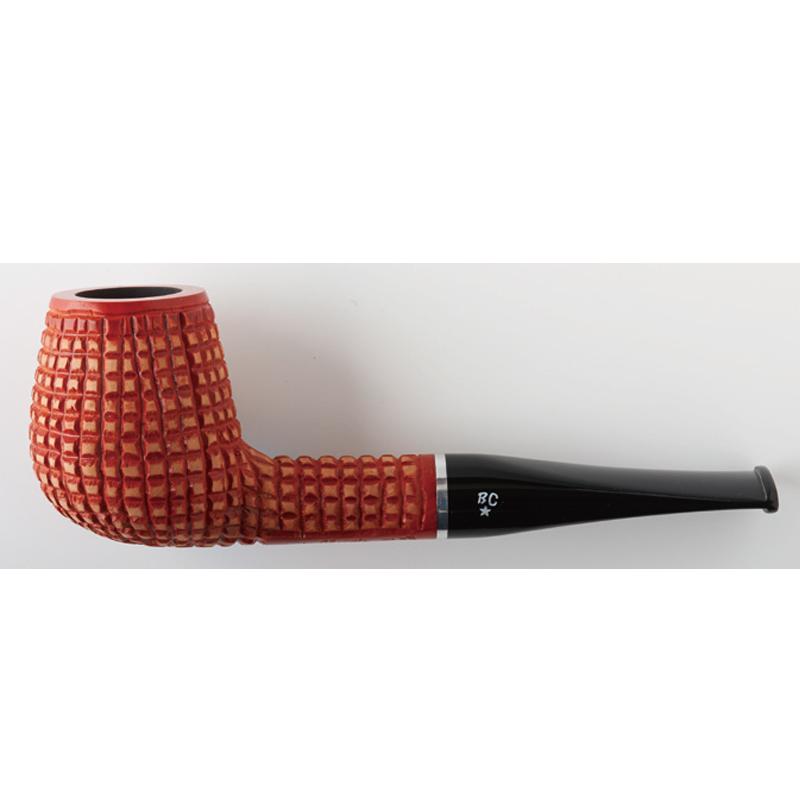 喫煙具・パイプ本体(ブライヤー) BCパイプ ピガレ オレンジ(9mmフィルター) 1772