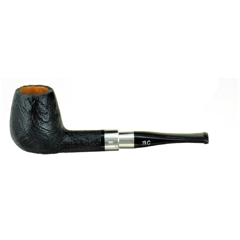 喫煙具・パイプ本体(ブライヤー) BCパイプ シルバーバンド サブレ(9mmフィルター) 1772
