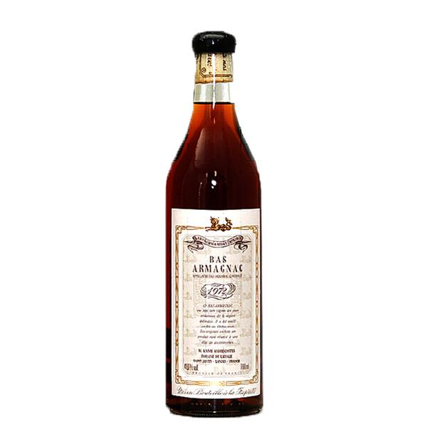 (送料無料)シングル・ドメーヌアルマニャック ジェラス ラサール 1972 700ml/49.6% (販売数限定商品・洋酒)