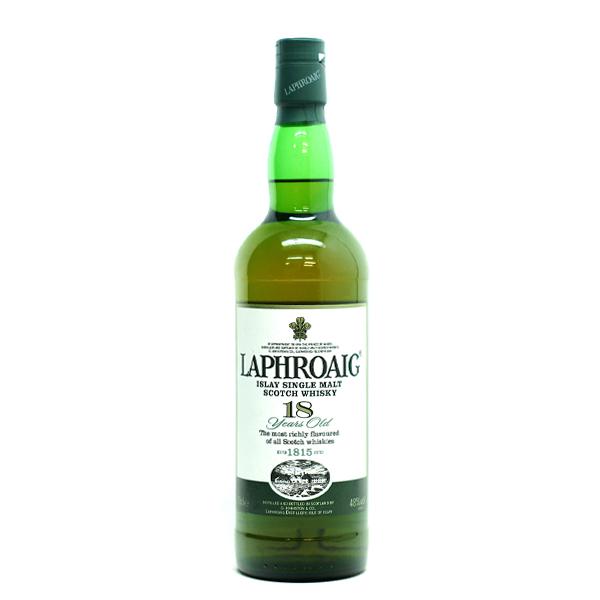 (送料無料)ラフロイグ 18年 48%/700mlシングルモルトウイスキー/アイラ島