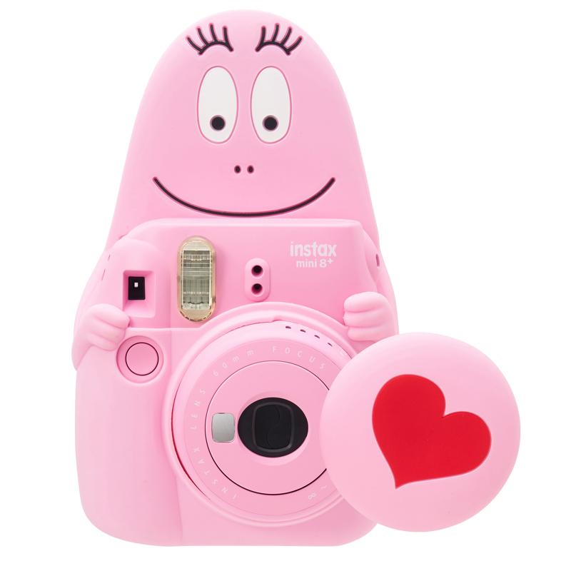送料無料!【バーバパパ チェキ】 バーバパパ インスタントカメラ チェキ instax mini 8+ 送料無料
