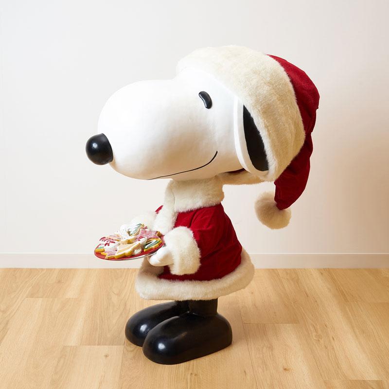 【大型配送】PEANUTS クリスマス ビッグスヌーピーサンタ 80cm ※ラッピング不可