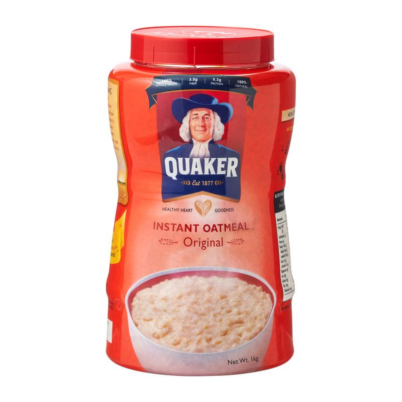 期間限定 QUAKER クエーカー インスタントオートミール セール特価 オリジナル1kg
