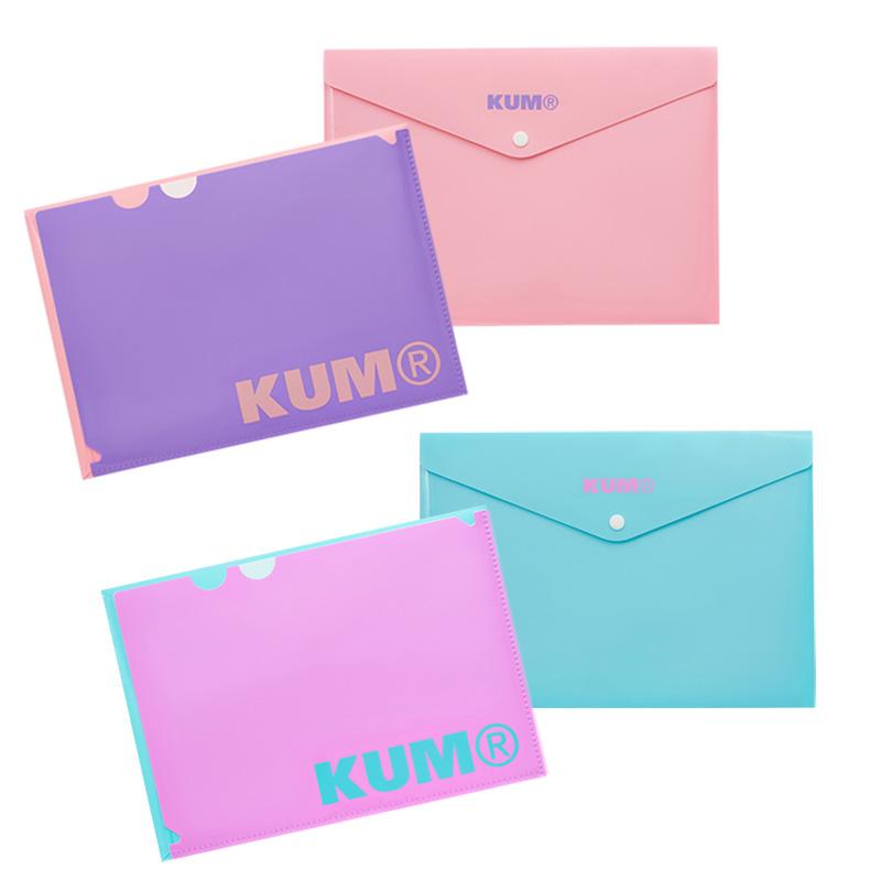 KUM 保証 ポケット付きファイル A4 ●スーパーSALE● セール期間限定