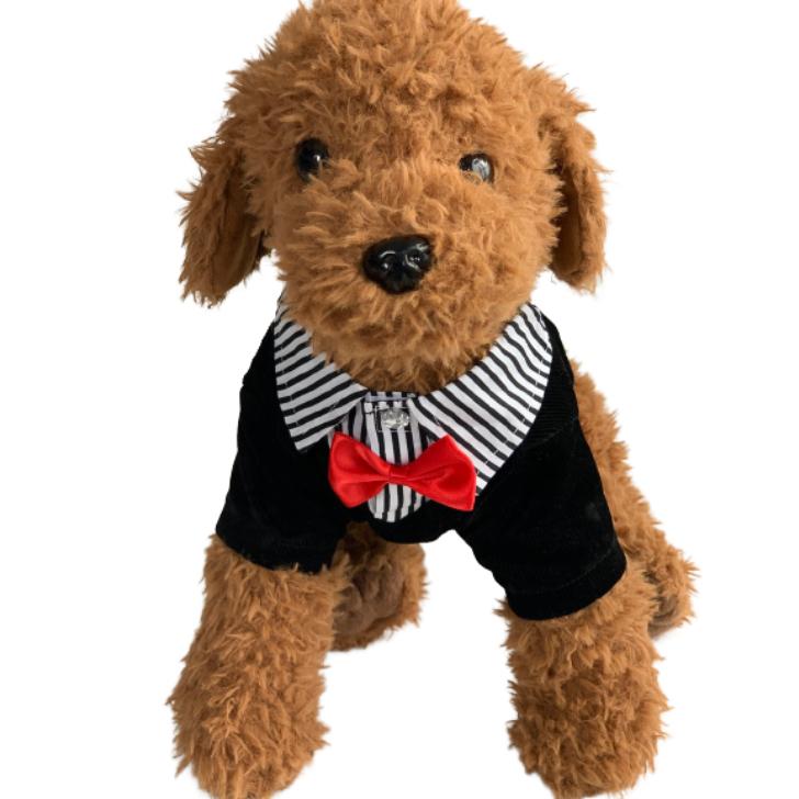 赤い蝶ネクタイがとても可愛いです ワンちゃんと一緒に素敵な記念日を ^^ S M L XL XXLと揃えております ドッグウェア ペット服 犬 蝶ネクタイ 犬服 フォーマル タキシード 男の子 誕生日 ブランド買うならブランドオフ 結婚式 イベント キャバリア チワワ コスチューム 黒 犬用タキシード 小型犬 安い 秋冬 無料 ダックス パグ ペット 超小型犬 マルチーズ プードル ブラック XXL パピヨン プチプラ