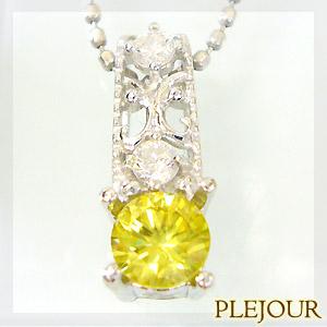 【10%OFF】スフェーントペンダント K18 アンティーク ダイヤモンド付 ネックレス  大人のアンティーク ペンダント/ プラチナ変更可能