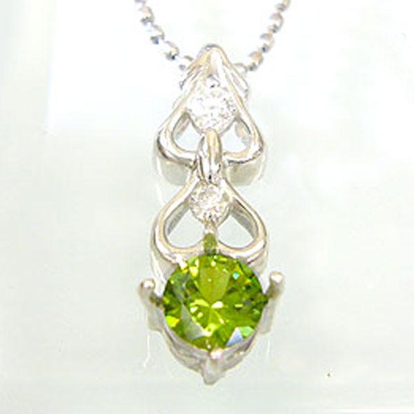【10%OFF】デマントイドペンダント K18 ハートモチーフ ダイヤモンド付 ネックレス 可憐なモダンスタイル ペンダント/ プラチナ変更可能