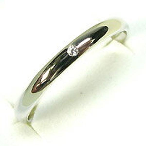 9日20時~ ダイアモンドリング・シンプル・プラチナ・約0.014ct前後・指輪