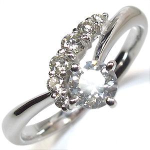 結婚指輪・ダイヤモンド・プラチナリング・シンプル・エンゲージリング