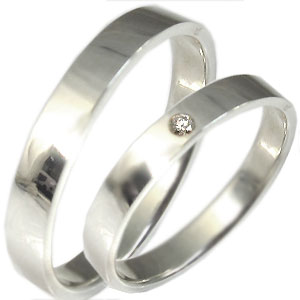 【10%OFF】ペアリングマリッジリングK18指輪