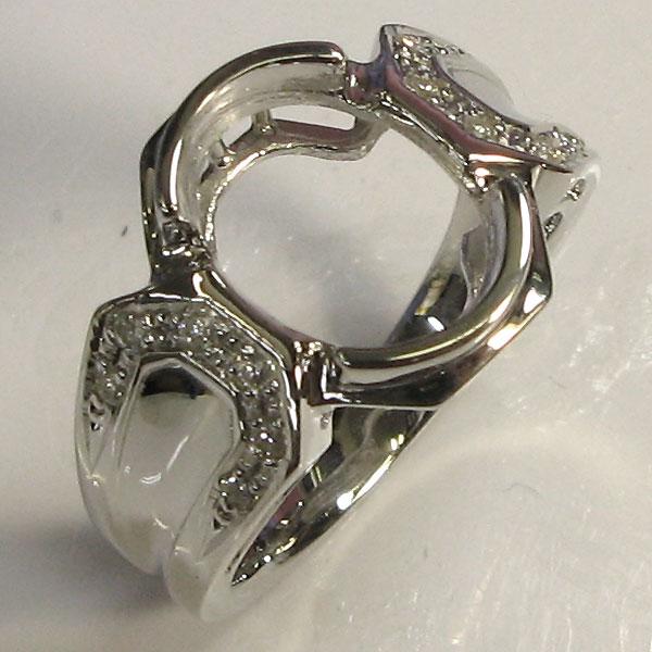 18金製・リング・リフォーム用・空枠・シンプル・指輪