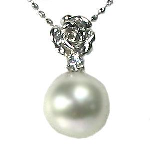 あこや本真珠・ペンダント・プラチナ・ネックレス・パール