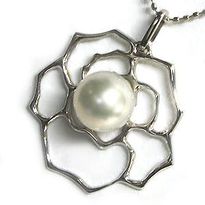 あこや本真珠・ペンダント・18金・ネックレス・パール