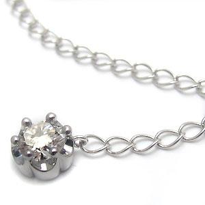 28日 1:59迄 プラチナ・チェーン・アジャスター・6.0cm・アジャスターチェーン・ダイヤモンド