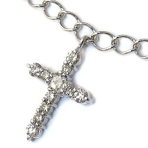 Bracelett or Anklet Lex /& Lu 14k White Gold 2.4mm Flat Figaro Chain Necklace