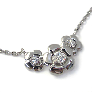 【10%OFF】1月1日00:00~ ダイヤモンド・ブレスレット・10金・フラワー・ブレスレット