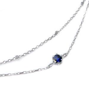 ブレスレット・2連・シンプル・天然石・18金・ブレス