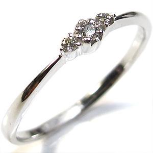【10%OFF】4日20時~ プラチナ:ダイヤモンドリング:シンプル:指輪【1105-m】
