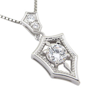 送料無料 永遠の定番モデル メンズ ネックレス ダイヤモンド ダイヤK18 18金 大幅にプライスダウン ダイヤ 誕生石 ペンダント 4月誕生石