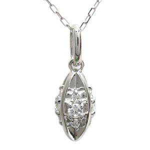 プラチナ レディース ネックレス ダイヤモンド ペンダント 母の日 プレゼント