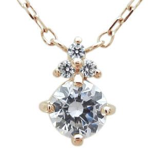 ネックレス レディース シンプルK10 ダイヤモンドペンダント 母の日 プレゼント