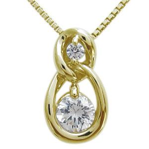 9日20時~ サークル・ネックレス・ダイヤモンド・K10・レディース・ネックレス 母の日 プレゼント