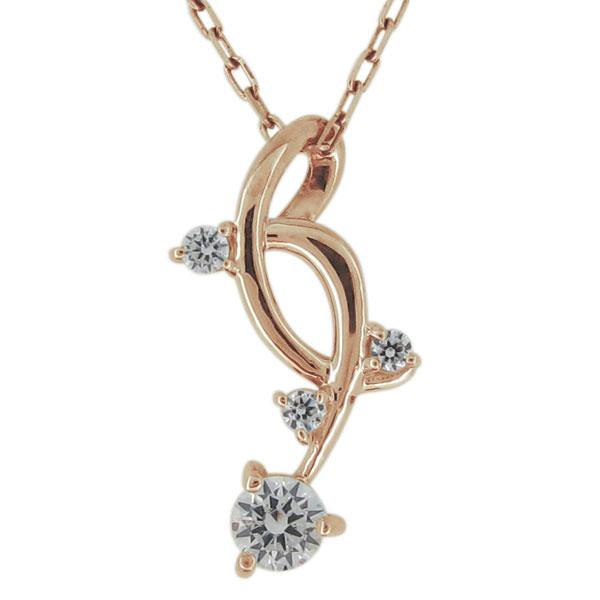 【10%OFF】4日20時~ ネックレス・レディース・シンプル・上品・18金・ゴールド・ダイヤモンド・ペンダント 母の日 プレゼント