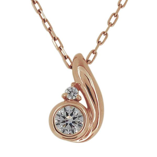 ネックレス レディース カジュアル 18金 天然石 ダイヤモンド シンプル ペンダント 母の日 プレゼント