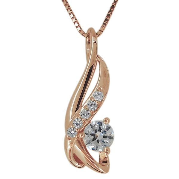 9日20時~ ネックレス レディース ダイヤモンド 7月誕生石 10金 大人 エレガント ペンダント 妻 嫁 彼女 母の日 プレゼント