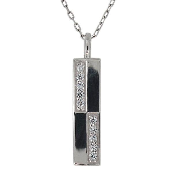 シルバーアクセサリー ネックレス レディース 安い ダイヤモンド シンプル ペンダント 母の日 プレゼント