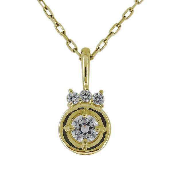 9/11 1:59迄ネックレス レディース シンプル ダイヤモンド 10金 20代 30代 40代 ペンダント