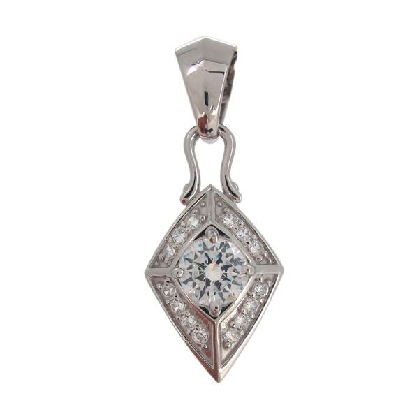 プラチナ ネックレス トップのみ メンズ 鑑定書 ダイヤモンド VSクラス
