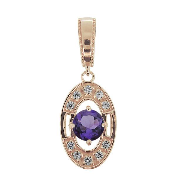 Mia Diamonds 10K Tiara Collection White Gold Polished CZ Pendant