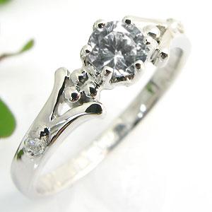 婚約指輪・18金・リング・ダイヤモンド・エンゲージリング