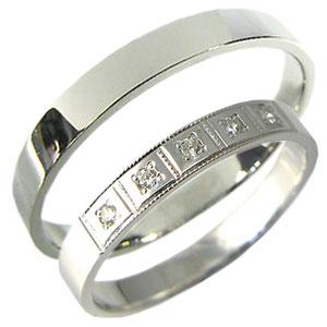 送料無料 10金製彫金ペアリング K10ゴールド ペアリング 好評受付中 驚きの値段で ダイヤモンド 結婚指輪 マリッジリング