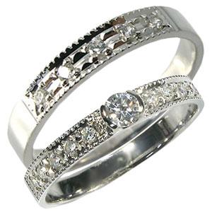 10金・ペアリング・ダイヤモンド・結婚指輪・マリッジリング