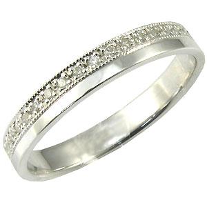 【10%OFFクーポン】5日23:59迄 結婚指輪・K18ゴールド・ダイヤモンド・リング・マリッジリング